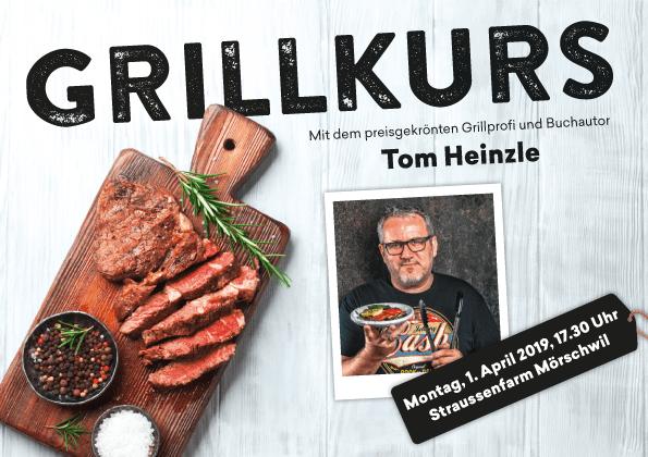 Grillkurs mit Tom Heinzle